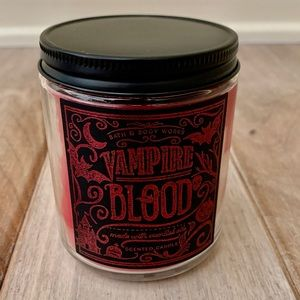 Bath Body Works Vampire Blood Candle Single Wick